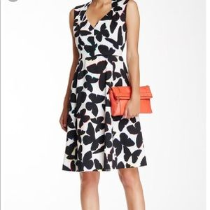 Kate Spade Multi-Colored butterfly dress